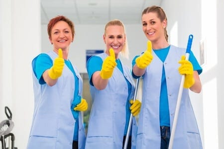 Our Professional Cleaning Team