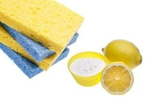 Natural home cleaning with common substances that you normally always have