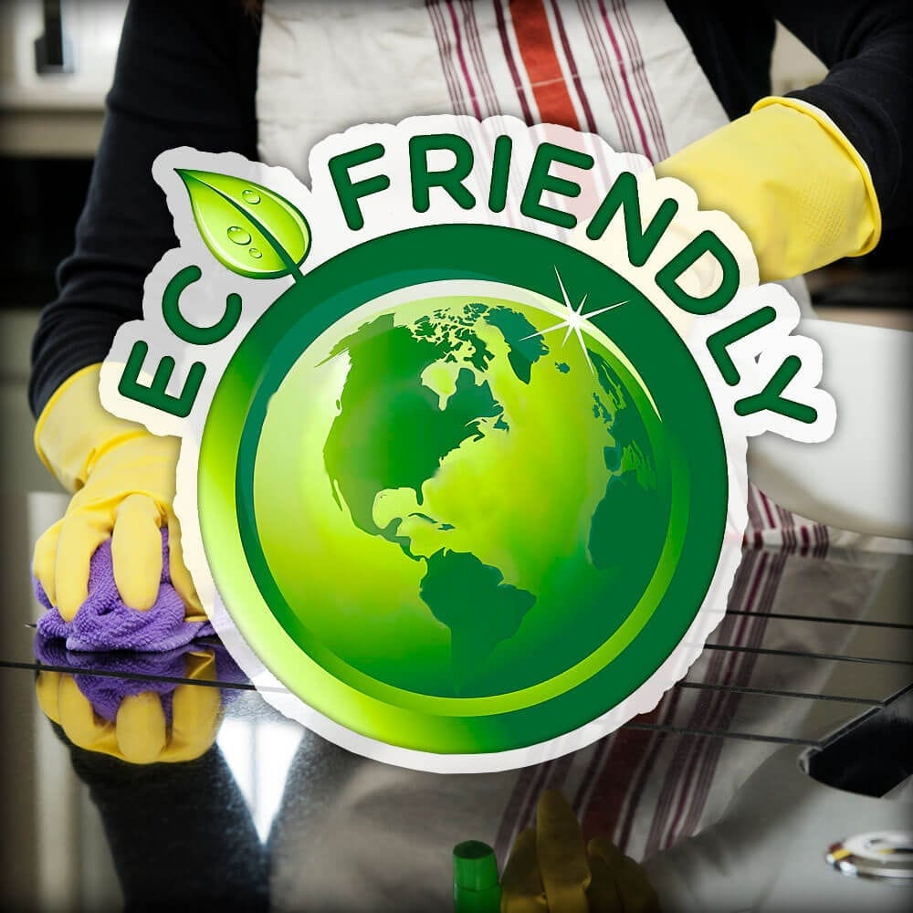 Cleaning Your Kitchen the Eco-Friendly Way!