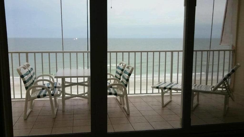 Cleaning Service in Clearwater Beach - balcony cleaning