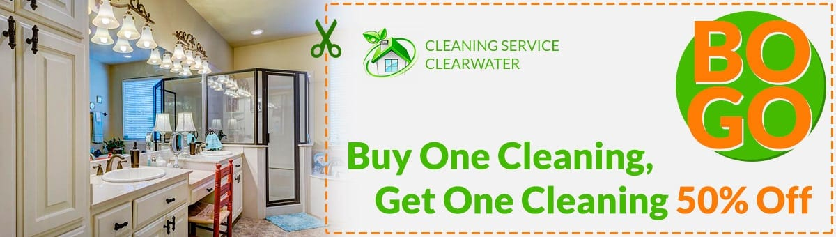 Buy One Cleaning, Get One Cleaning 50% Off