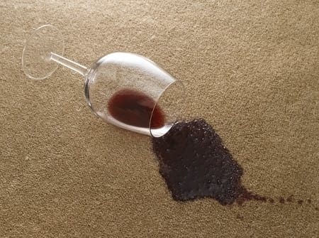 Effective Ways Of Getting Rid Of Red Wine Stains From A Carpet