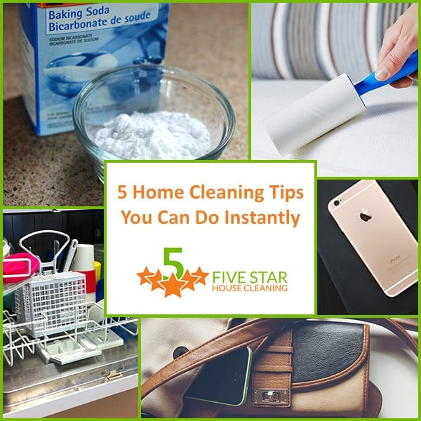 Home Cleaning Tips You Can Do Instantly