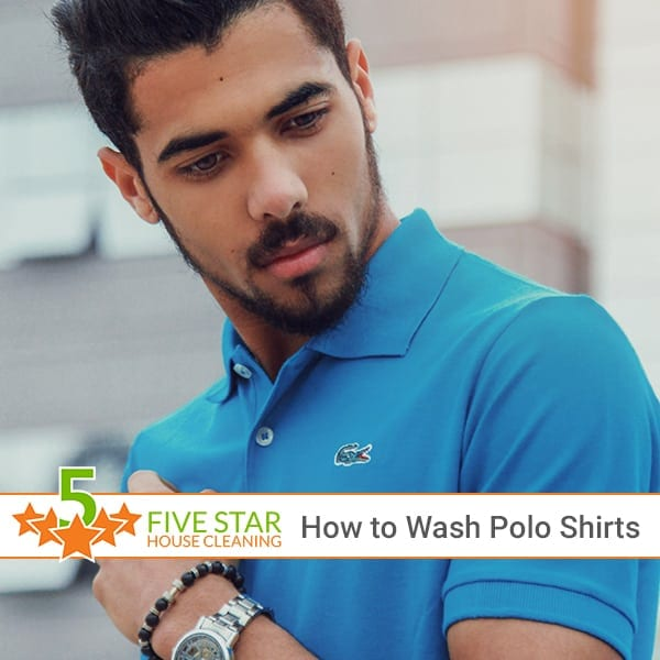 How to Wash Polo Shirts