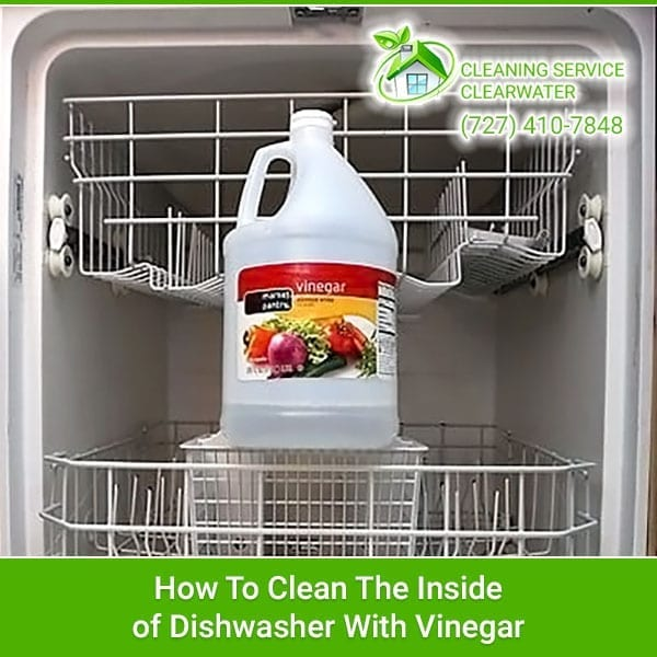 Clean The Inside of Dishwasher With Vinegar