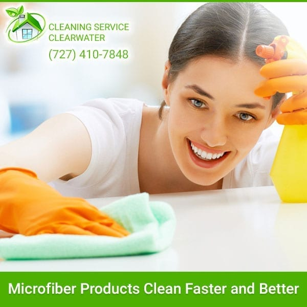 Microfiber Products Clean Faster and Better