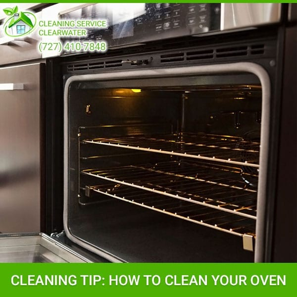 Cleaning Tip: How to Clean Your Oven