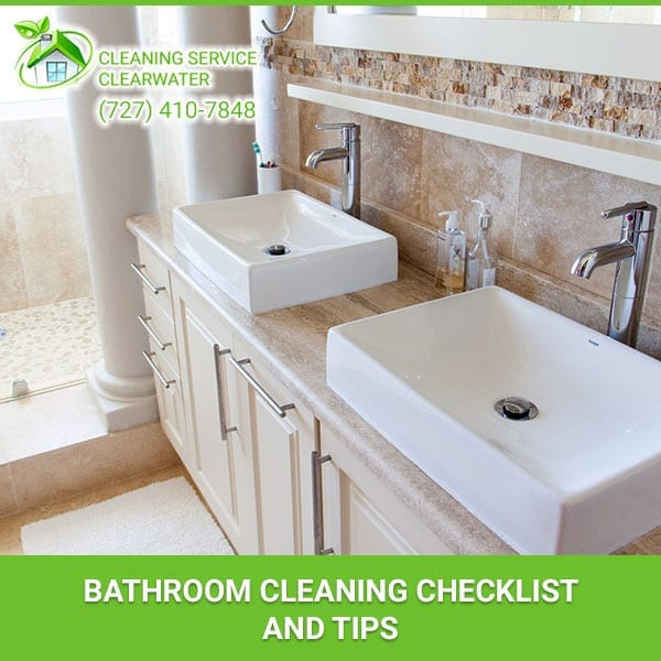 Bathroom Cleaning Checklist and Tips