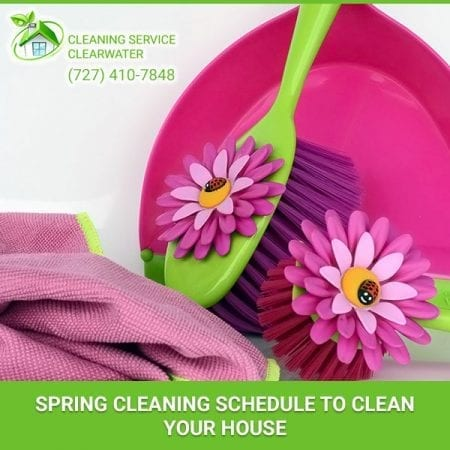 Spring Cleaning Schedule to Clean Your House