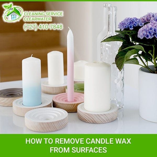How to Remove Candle Wax from Surfaces