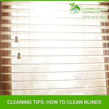 Cleaning Tips: How To Clean Blinds
