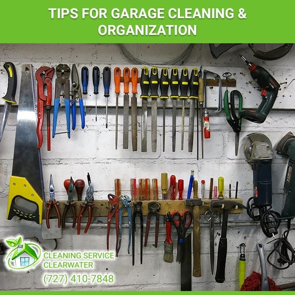 Tips for Garage Cleaning & Organization