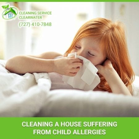 Cleaning A House Suffering From Child Allergies