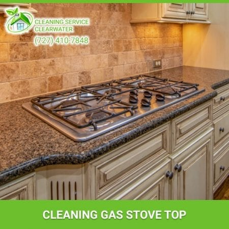 Cleaning Gas Stove Top