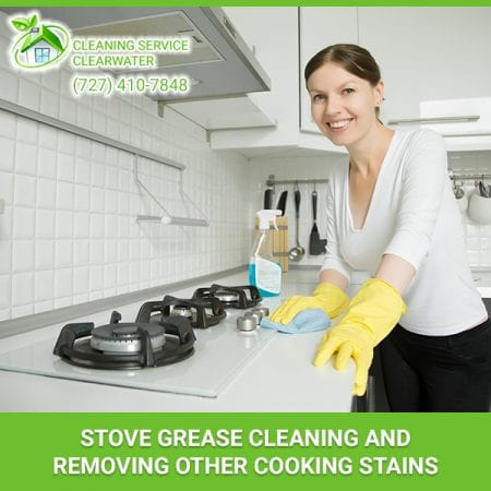 Stove Grease Cleaning And Removing Other Cooking Stains