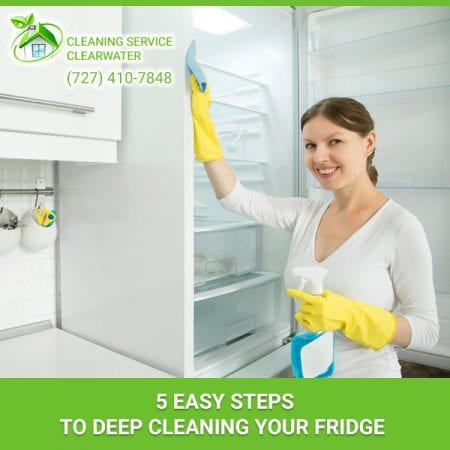 5 Easy Steps To Deep Cleaning Your Fridge